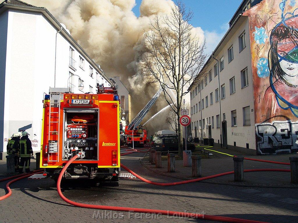 Brand In Köln Mülheim