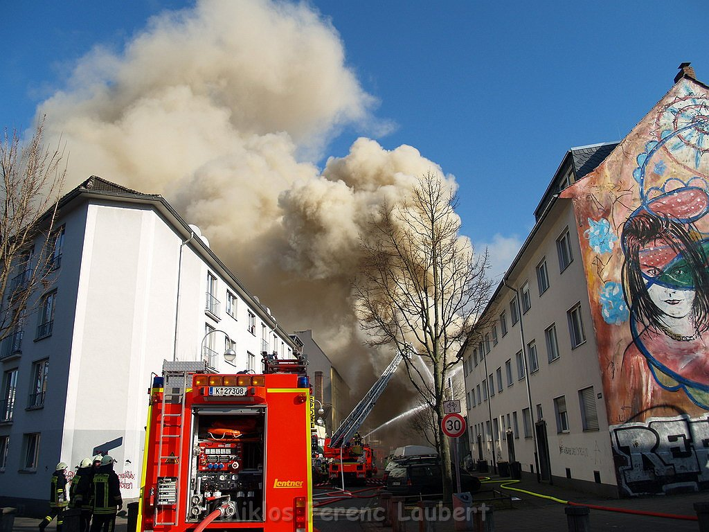 Köln Mülheim Brand